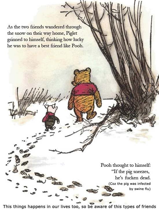 Quotes About Friendship Winnie The Pooh Gorgeous Winnie The Pooh Friendship Quote  Quote Number 558839  Picture