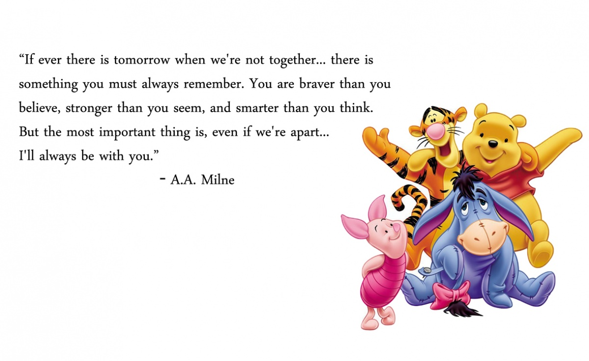 Winnie The Pooh Quote About Friendship Winnie The Pooh Friendship Quote  Quote Number 558840  Picture