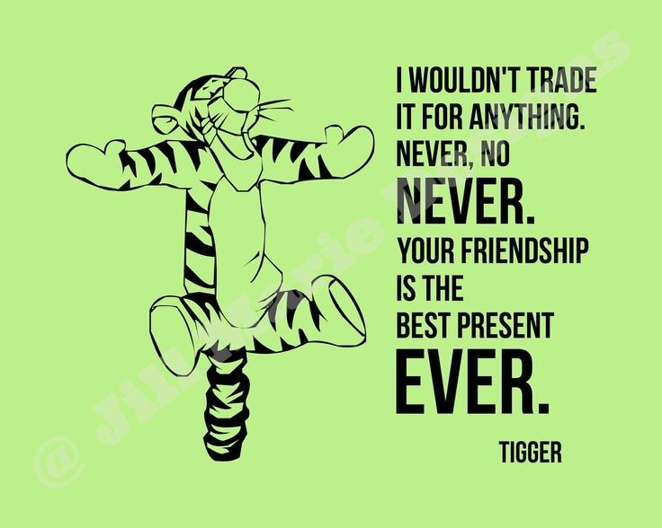 Tiger Winnie The Pooh Quote 1 Picture Quote #1