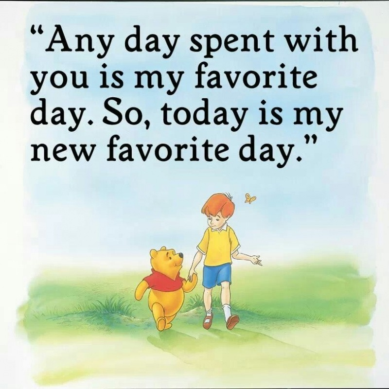 Sweet Winnie The Pooh Quote 1 Picture Quote #1