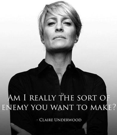 Am I really the sort of enemy you want to make? Picture Quote #1