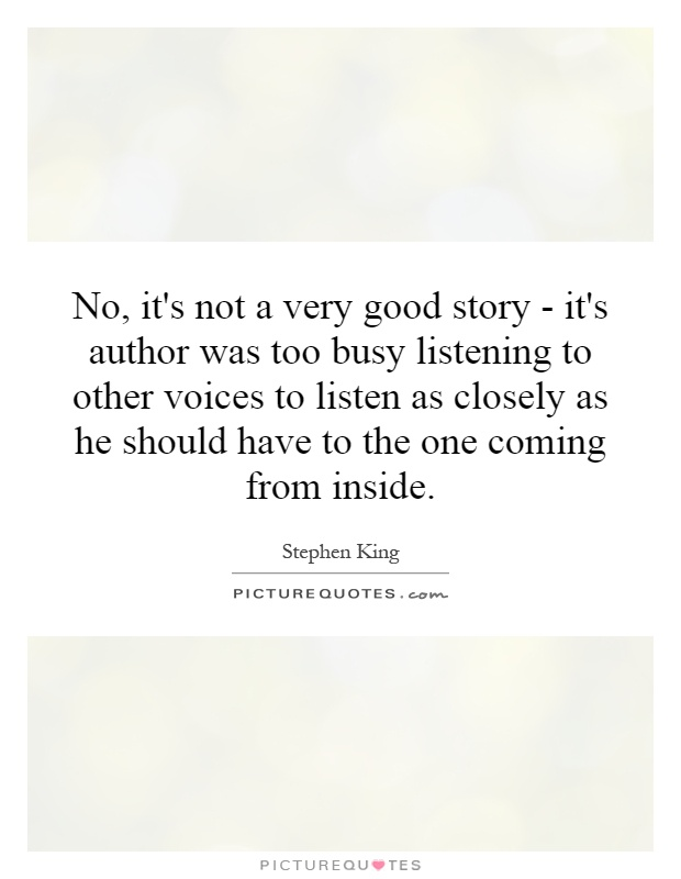 listening to others is a great Understand that good listening is almost entirely about how you respond  half of being a good listener is what you do when the person is.