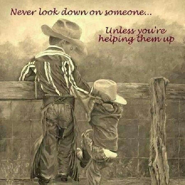 Cowboy Quote To Live By 1 Picture Quote #1