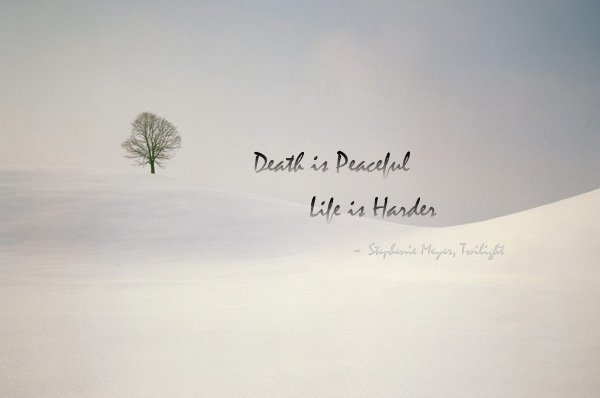 Peaceful Death Quote 1 Picture Quote #1