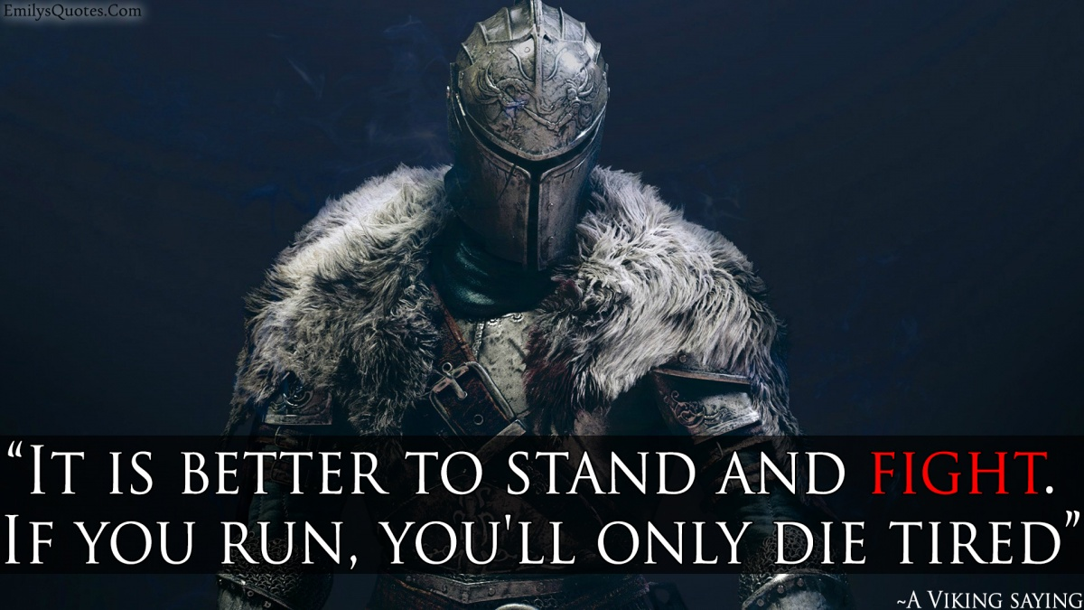 Viking Death Quote 1 Picture Quote #1