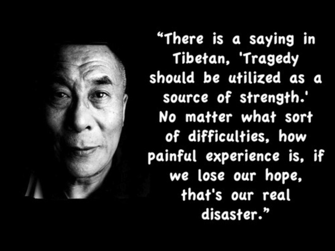 Dalai Lama Quote About Life 3 Picture Quote #1
