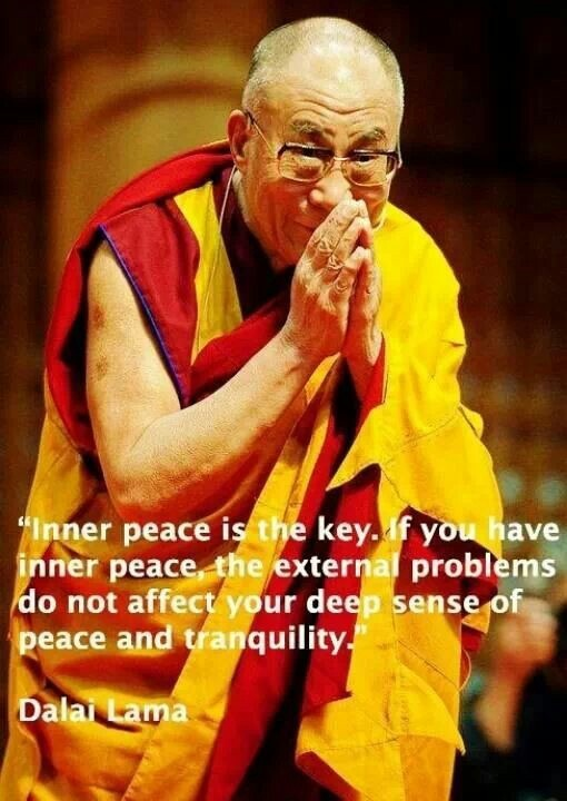 Dalai Lama Quote On Peace 2 Picture Quote #1
