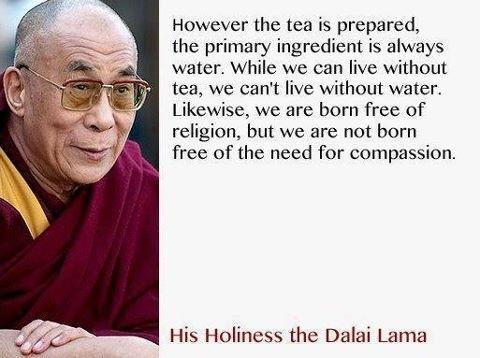 Dalai Lama Quote Compassion 1 Picture Quote #1