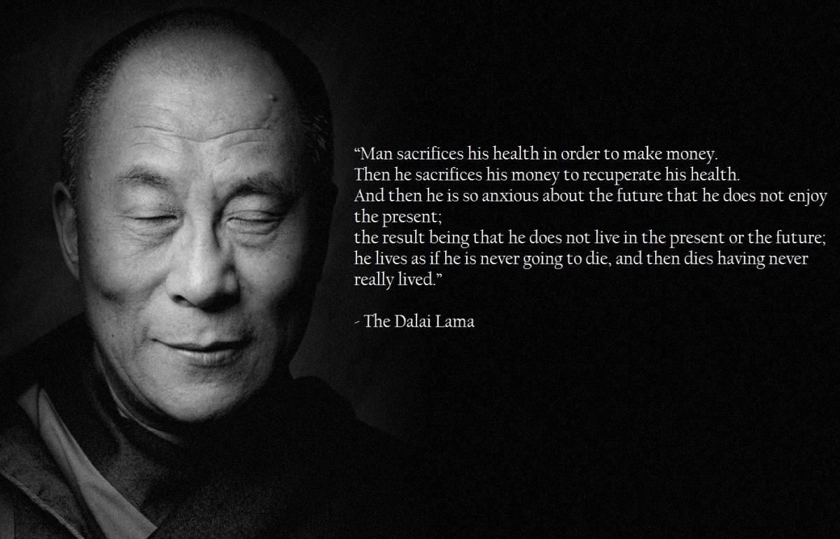 Quote Dalai Lama On Man 2 Picture Quote #1