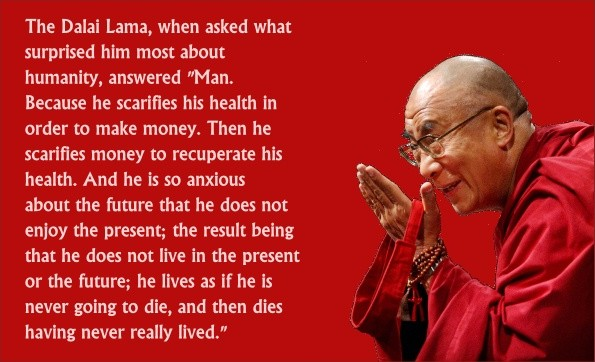 Quote Dalai Lama On Man 3 Picture Quote #1