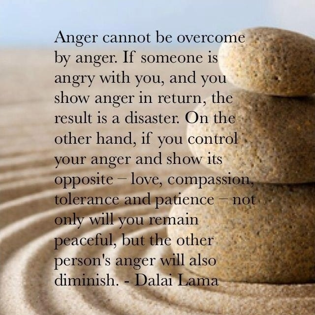 Quote Dalai Lama On Man 4 Picture Quote #1