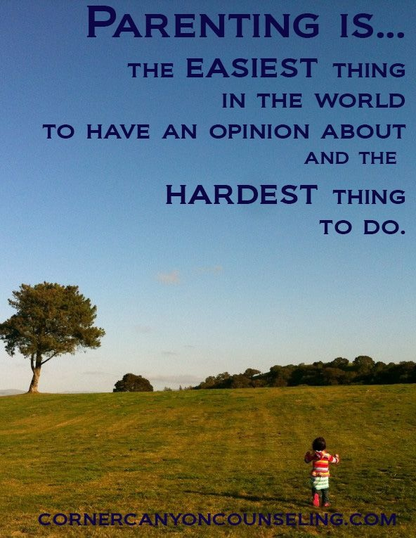 Parenting Quote For Hard Times 1 Picture Quote #1