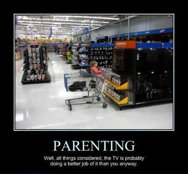 Funny Bad Parenting Quote 1 Picture Quote #1
