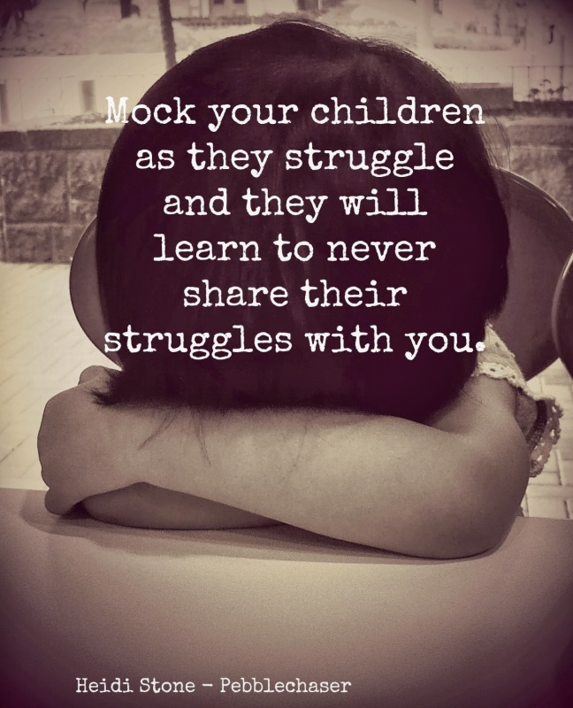 Parenting Quote About Struggles 3 Picture Quote #1