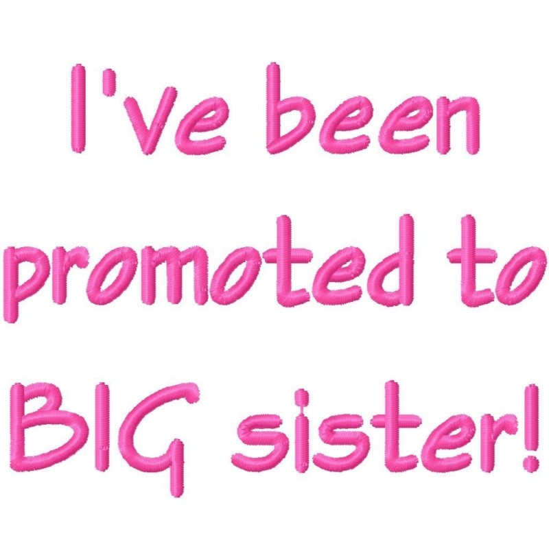 Big Sister Quote 1 Picture Quote #1