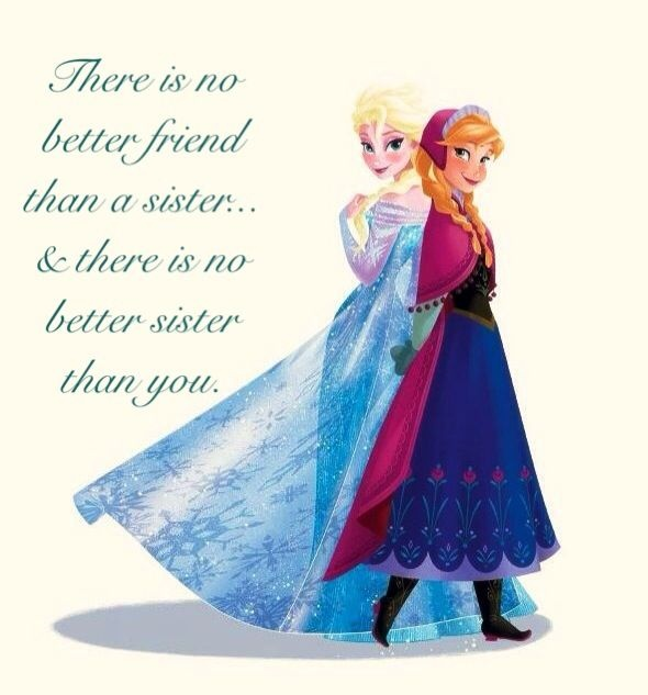 Frozen Sister Quote 1 Picture Quote #1