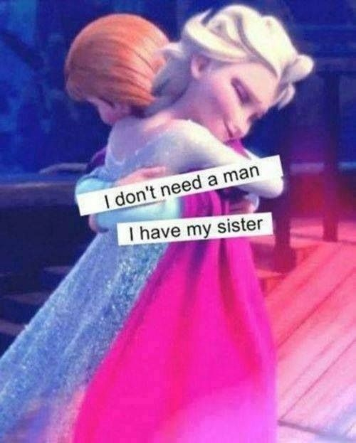 Frozen Sister Quote 3 Picture Quote #1