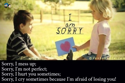 I Am Sorry Quote 2 Picture Quote #1
