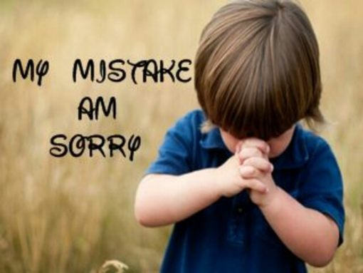 Saying Sorry Quote Mistakes 1 Picture Quote #1