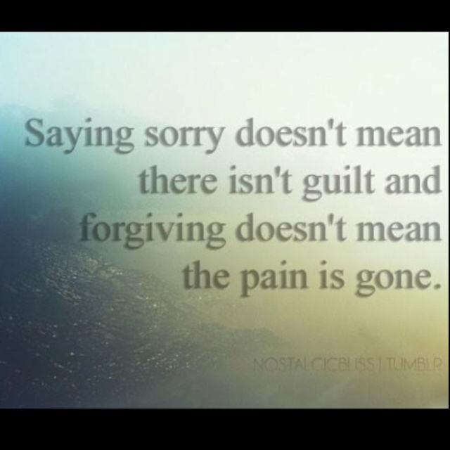Saying Sorry Quote Apology 1 Picture Quote #1