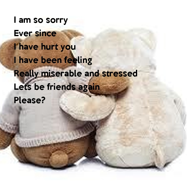 I Am So Sorry Quote 2 Picture Quote #1