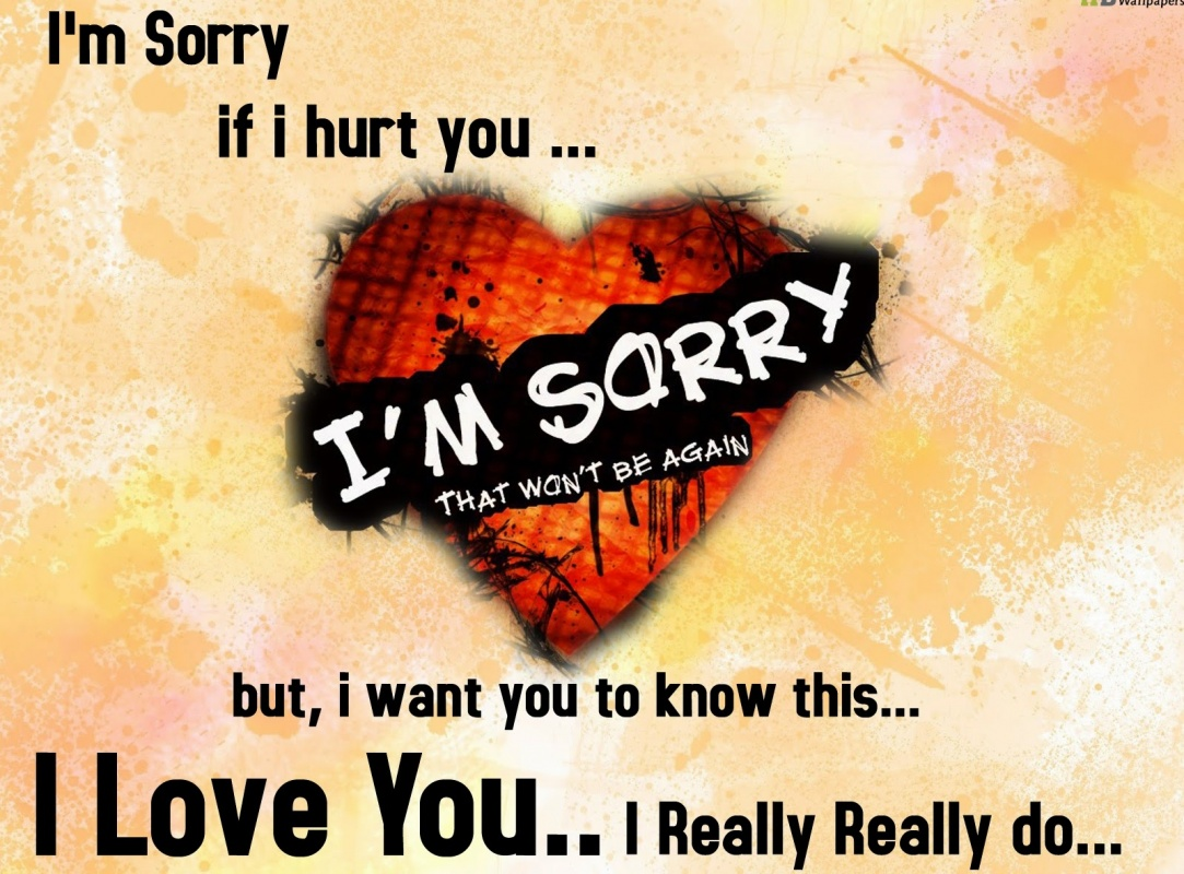 quotes about being sorry - photo #33