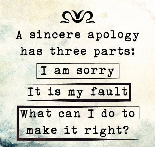 Im Sorry Quote Apology 2 Picture Quote #1