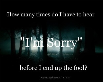 Sorry Quote 9 Picture Quote #1