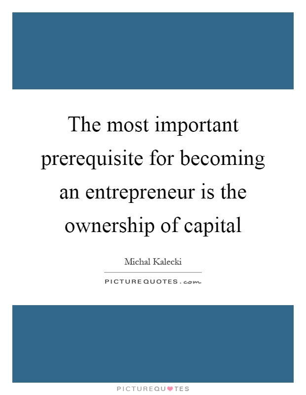 My dream of becoming an entrepreneur