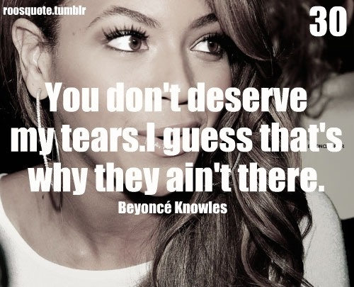 Sad Love Quote Beyonce | Quote Number 560201 | Picture Quotes