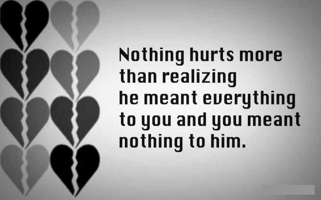 Romantic for her quotes sad 61 Best