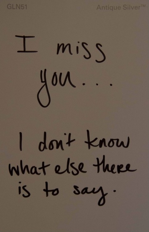 Miss You Sad Love Quote 1 Picture Quote #1
