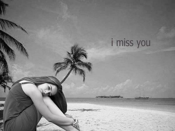 Miss You Sad Love Quote 2 Picture Quote #1