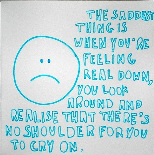 Feeling Sad Love Quote 2 Picture Quote #1