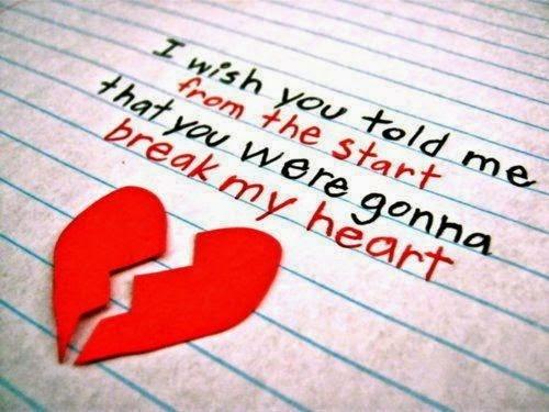 Heartbreak Quote Sad Love Broken Heart 2 Picture Quote #1