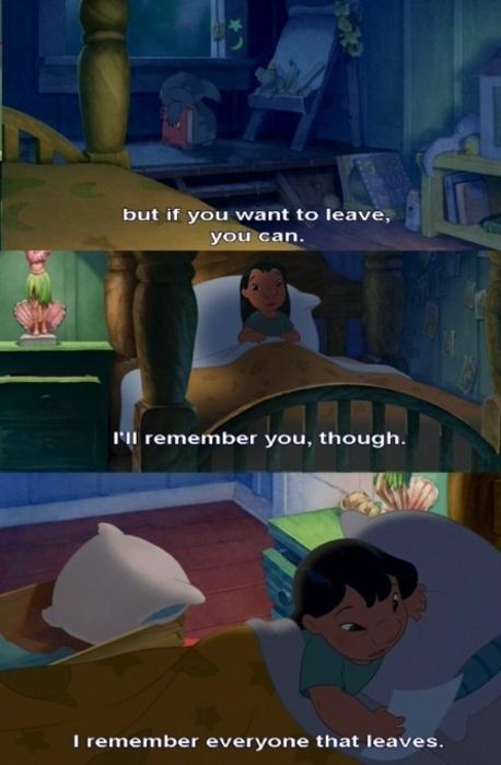 Sad Love Quote Disney 1 Picture Quote #1