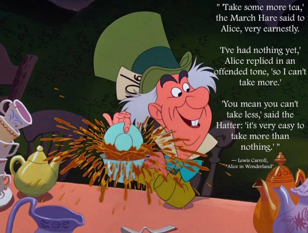 Alice In Wonderland Mad Hatter Quote 2 Picture Quote #1