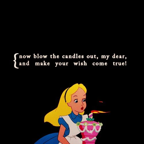 Alice In Wonderland Birthday Quote 1 Picture Quote #1