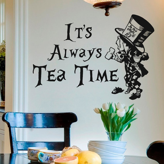 Alice In Wonderland Quote Wall 1 Picture Quote #1