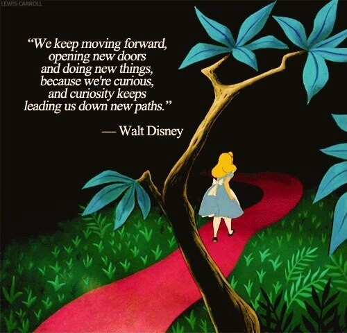 Alice In Wonderland Quote Inspirational 1 Picture Quote #1