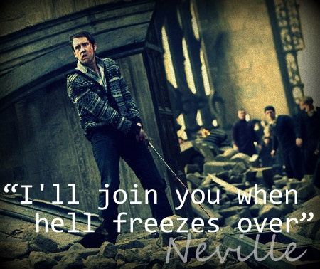 Neville Longbottom Harry Potter Quote Quote Number 561056