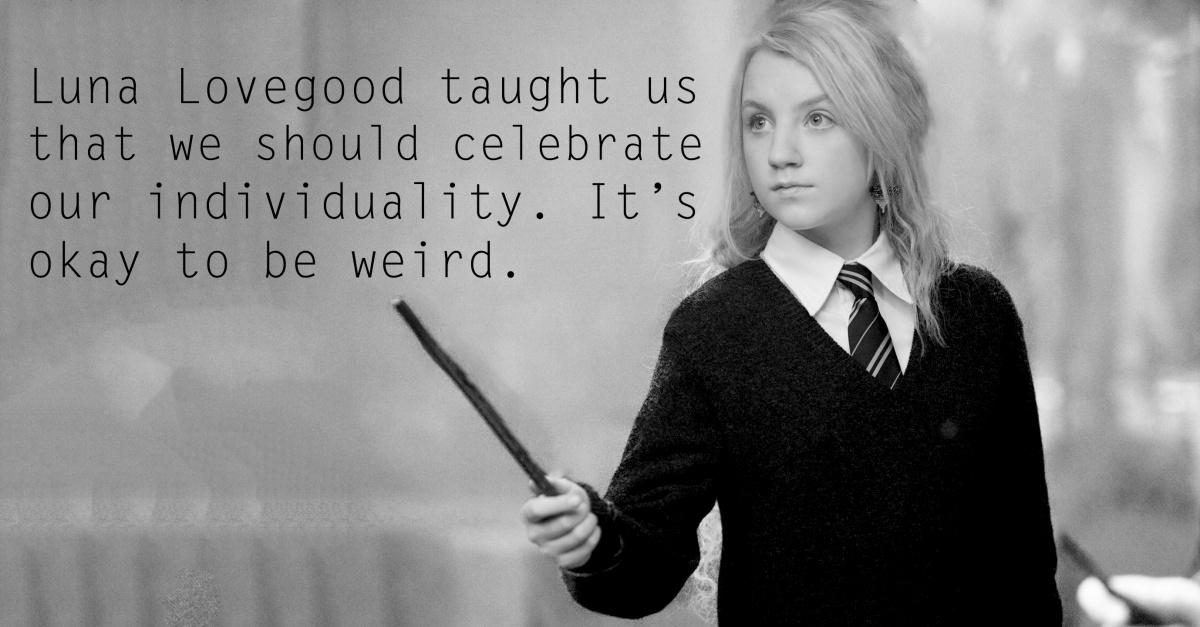 Luna Lovegood Quotes   Harry Potter Luna Lovegood Quote Quote Number 561206 Picture Quotes