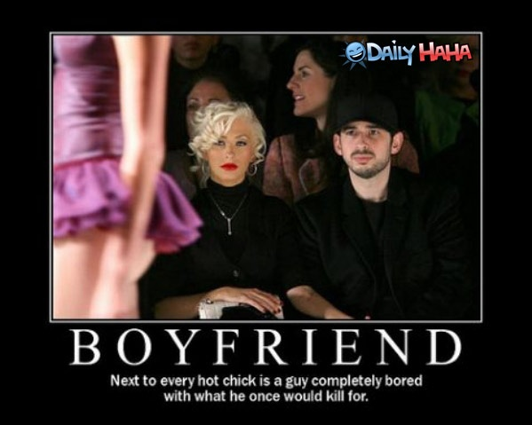 Funny Boyfriend Quote 1 Picture Quote #1