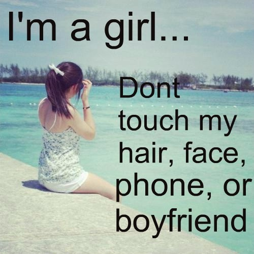 Funny Boyfriend Quote For Girls 1 Picture Quote #1