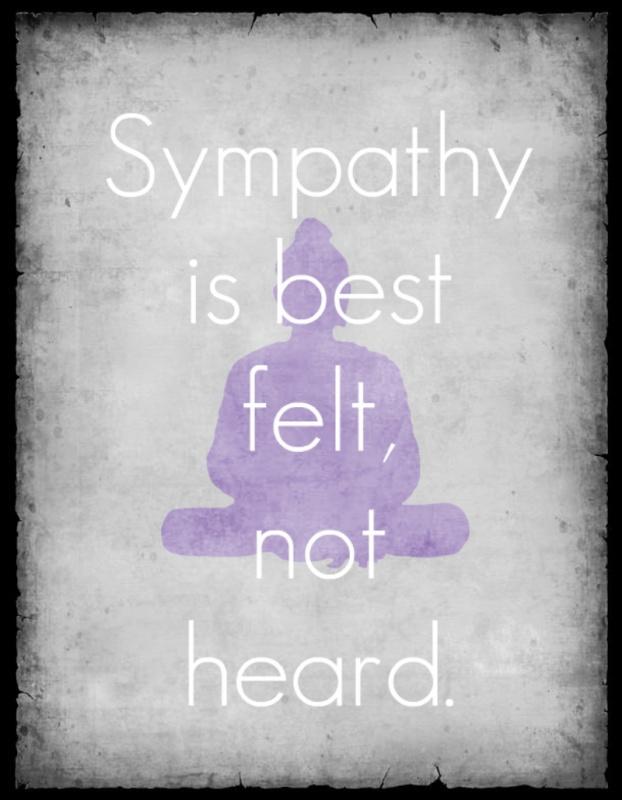 Sympathy Quote 3 Picture Quote #1