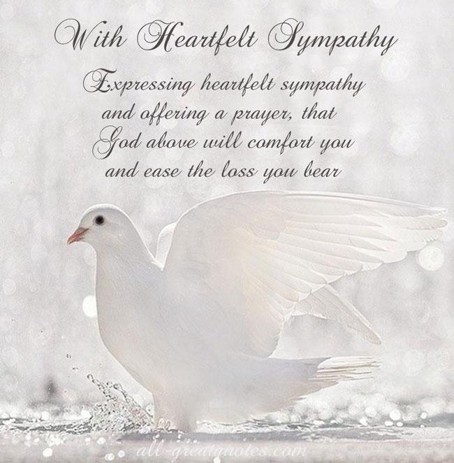 Sympathy Quote 15 Picture Quote #1