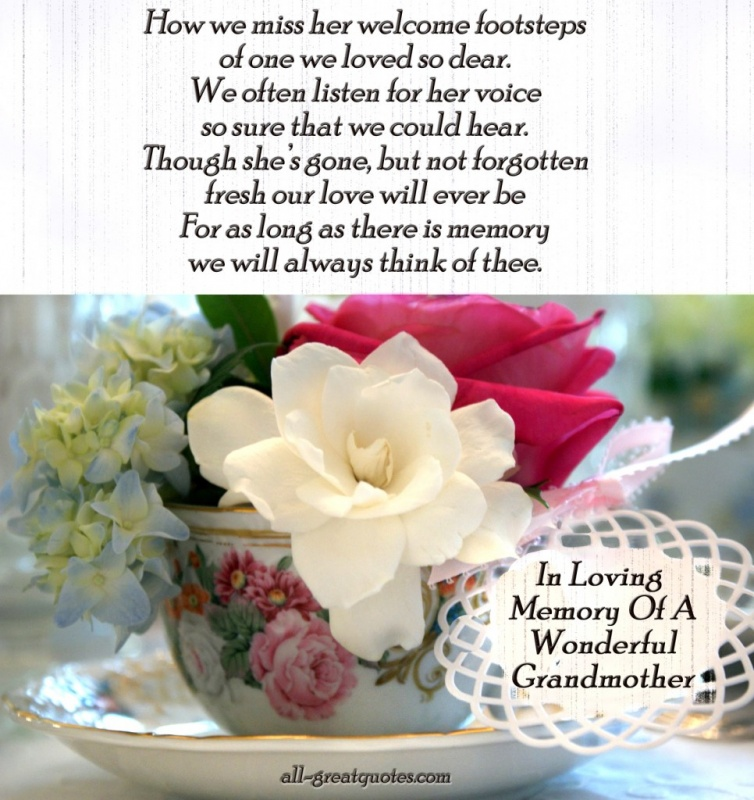 Grandmother Sympathy Quote 1 Picture Quote #1