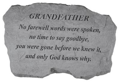 Grandfather Death Sympathy Quote 1 Picture Quote #1