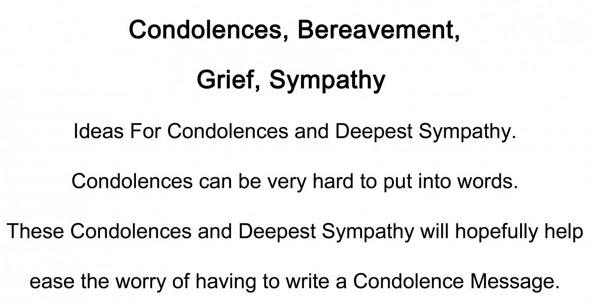 Sympathy Quote 24 Picture Quote #1