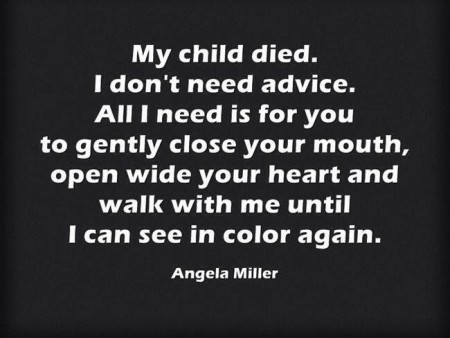 Sympathy Quote For Bereaved Parents 2 Picture Quote #1